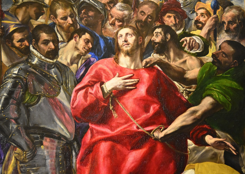 Toledo Cathedral Christ El Greco
