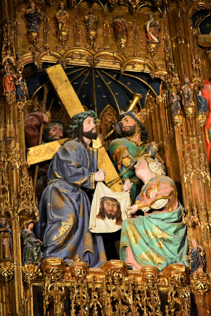 Toledo Cathedral Our Lord Carries Cross