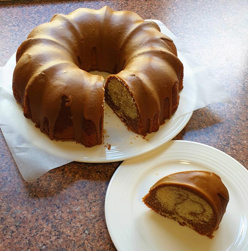 Coffee & Cardamom Cake