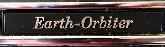 Sony Earth-Orbiter CRF-5090 Label 2