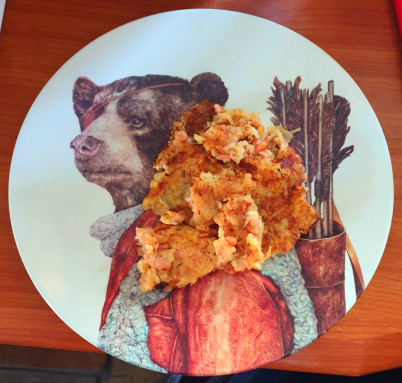 Bubble & Squeak Bear Plate